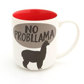Lenny Mud No Probllama Llama Mug