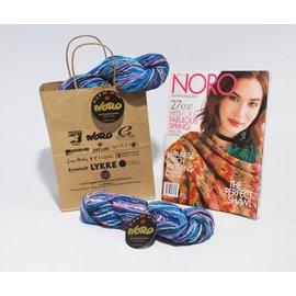 Noro Nishiki Semicircle Shawl Ver C