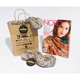 Noro Nishiki Semicircle Shawl Ver E