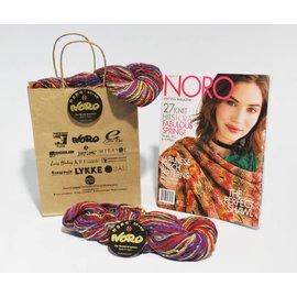 Noro Nishiki Semicircle Shawl Ver H