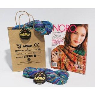 Noro Nishiki Semicircle Shawl Ver I