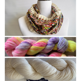 Garden Party Cowl Kit - 05