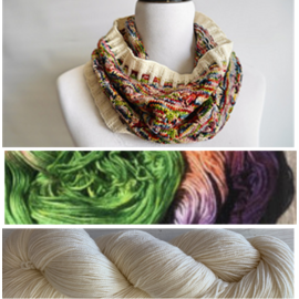 Garden Party Cowl Kit - 08