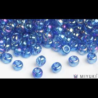 Miyuki Miyuki 8/0 Glass Beads - 291 Trans Capri Blue AB