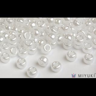 Miyuki Miyuki 8/0 Glass Beads - 511 White Ceylon