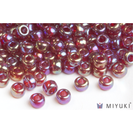 Miyuki Miyuki 6/0 Glass Beads - 298 Transparent Ruby AB