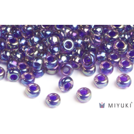 Miyuki Miyuki 6/0 Glass Beads - 356 Purple Lined Amethyst AB