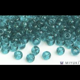 Miyuki Miyuki 6/0 Glass Beads - 2405 Transparent Teal