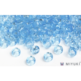 Miyuki Miyuki 6/0 Glass Beads - 148 Transparent Light Blue