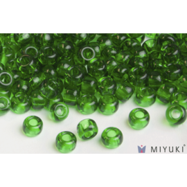Miyuki Miyuki 6/0 Glass Beads - 146 Transparent Grass Green