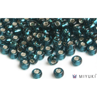 Miyuki Miyuki 8/0 Glass Beads - 30 Silverlined Dark Teal