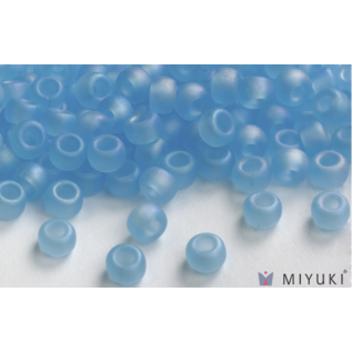 Miyuki Miyuki 8/0 Glass Beads - 149FR Trans Frost Capri Blue AB