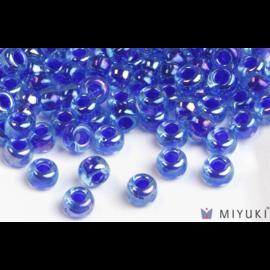 Miyuki Miyuki 6/0 Glass Beads - Cobalt Lined Sapphire AB