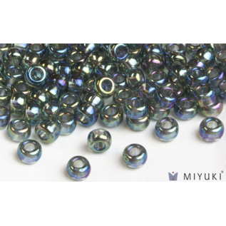 Miyuki Miyuki 6/0 Glass Beads - Transparent Grey AB