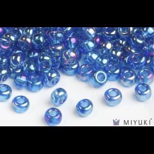 Miyuki Miyuki 6/0 Glass Beads - 291 Trans Capri Blue AB