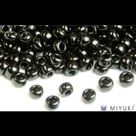 Miyuki Miyuki 6/0 Glass Beads - 401 Opaque Black