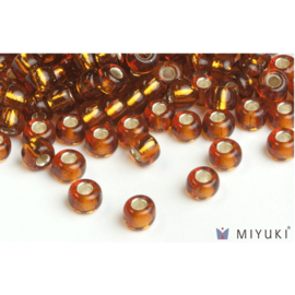 Miyuki Miyuki 6/0 Glass Beads - 5 Silverlined Copper
