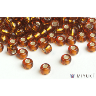 Miyuki Miyuki 6/0 Glass Beads - 5 Silverlined Copper