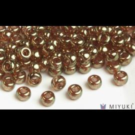 Miyuki Miyuki 6/0 Glass Beads - 311 Topaz Gold Luster