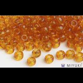 Miyuki Miyuki 6/0 Glass Beads - 133 Transparent Amber
