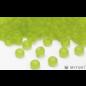 Miyuki Miyuki 6/0 Glass Beads - 143F Transparent Frost Chartreuse