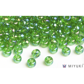 Miyuki Miyuki 6/0 Glass Beads - 179L Transparent Light Green AB