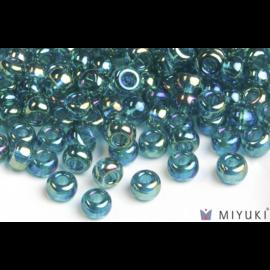 Miyuki Miyuki 6/0 Glass Beads - 2458 Transparent Teal AB