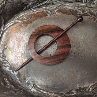 JUL Designs Classic Off Center Shawl Pin