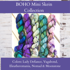 Toad Hollow Yarns Sock Toad - Boho Mini Skein Collection - (5)