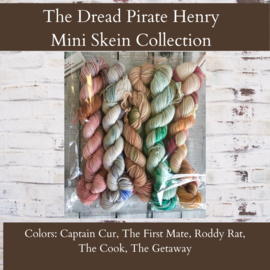 Toad Hollow Yarns Sock Toad - Dread Pirate Henry Mini Skein Collection (5)