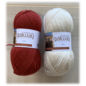 Plymouth Fox Scarf Kit Red