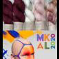 Slipstravaganza MKAL 2020 - 14 Cherry My Merlot