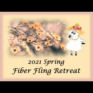 2021 Spring Fling Fiber Retreat - Deposit Double