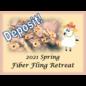 2021 Spring Fling Fiber Retreat - Deposit Single