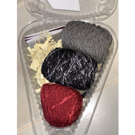 Beet Street Yarn Co. Silk 3-Ways Scarf Kit - Bury My Heart