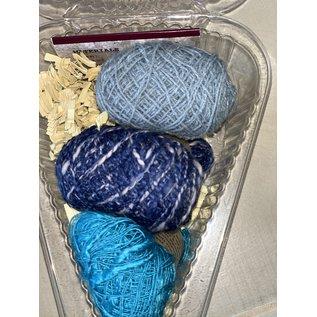 Beet Street Yarn Co. Silk 3-Ways Scarf Kit - Only Blue Skies