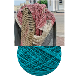 Beet Street Yarn Co. Unbeetable Scarf Kit - Night - 16 Blue Moon