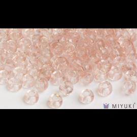 Miyuki Miyuki 8/0 Glass Beads - 155 Transparent Pale Pink