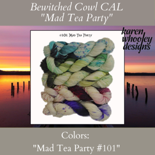 Frabjous Fibers Bewitched CAL Kit - Mad Tea Party #101