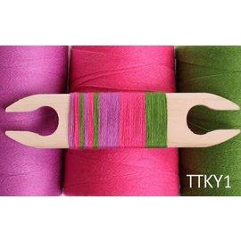 Ashford  Wheels and Looms Yoga Yarn Tea Towel Kit - 2021 Option 1