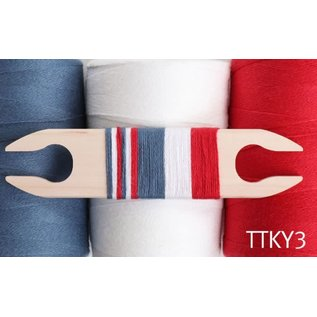 Ashford  Wheels and Looms Yoga Yarn Tea Towel Kit - 2021 Option 3
