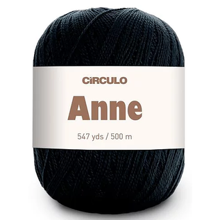 Circulo Anne - 8990 Black (500m)