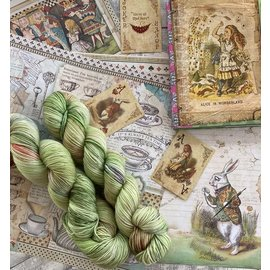 Toad Hollow Yarns 100% Toad - Alice Collection Down the Rabbit Hole