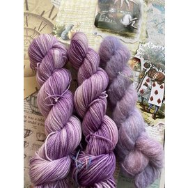 Toad Hollow Yarns 100% Toad - Alice Collection My Reality is Just Different from Yours