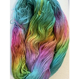 Great Adirondack Yarn Co Organic Cotton Fingering - Spring Garden