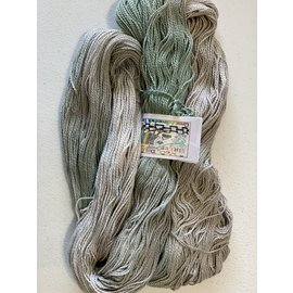 Great Adirondack Yarn Co Organic Cotton Fingering - Bluegray