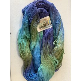 Great Adirondack Yarn Co Organic Cotton Fingering - Nantucket Blue