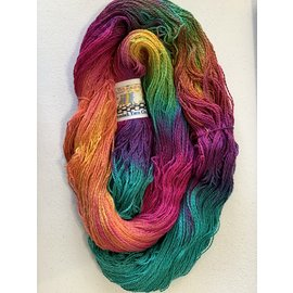 Great Adirondack Yarn Co Organic Cotton Fingering - Bali Brights