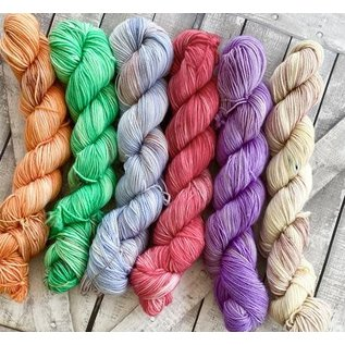 Toad Hollow Yarns Sock Toad - Princess Bride Chapter 2 Mini Skein Collection (6)