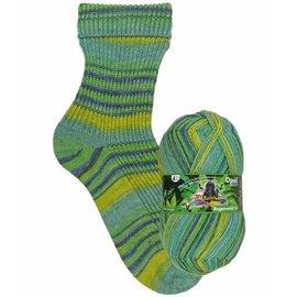 Zwerger Garn Opal Sock - Rainforest 9904